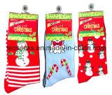 Chaussettes globales de neige de Noël de festival d'approvisionnement importées de Chine
