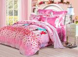 Baumwolle 40s 100% mit der reagierenden gedruckten Bettwäsche eingestellt (YH1188)