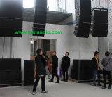 屋外のSpeaker System三方Full Range Stacking Line Array