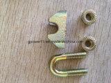 Attache de montage DIN malléable galvanisé1142 Wire Rope Clip