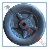 7.5X2.5 PE Materieel Plastic Blazend Wiel voor het Karretje van de Wagen