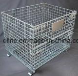 Cestino d'acciaio del contenitore/collegare di immagazzinamento alla rinfusa