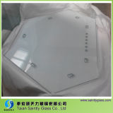 China Low-E flotado claro templado de vidrio de construcción