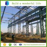 Invernadero agrícola y estructura de acero Designbehavior de la construcción rápida
