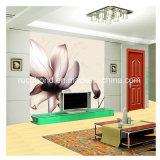 Het moderne van TV Behang Als achtergrond past Muurschilderingen aan