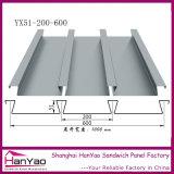 Yx51-200-600 de Gegalvaniseerde Plaat van het Lager van de Vloer van het Staal