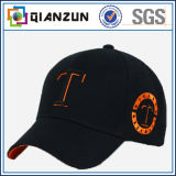 Sombreros de béisbol de la gorra de béisbol 6 casquillos de los deportes de los casquillos del panel
