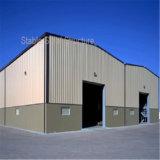 低価格の軽いPebの鉄骨構造の製造された倉庫の建物
