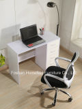 Colorful High UV Glossy Study Computer Desk with 4 Drawers