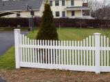 Clôtures de jardin en PVC