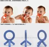Безопасные Non-Toxic силиконовый прорезыватель малыша игрушки