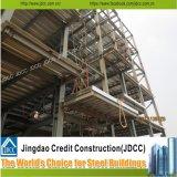 조립식 공장 사무실에 의하여 직류 전기를 통하는 가벼운 강철 구조물 건물