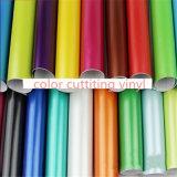 Heißer Verkauf 1.22*50m hoher glatter Belüftung-Farben-Vinylaufkleber