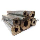 Eficiencia Alta CE 500 Kg / H Screw Tipo Biomasa Briquetas de la máquina