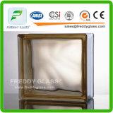 Brik de vidro desobstruído/Brik de vidro/bloco de vidro desobstruído/bloco de vidro/bloco de canto de vidro/bloco de vidro do ombro