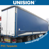 Coated Grade 5 anti-UV bâche pour camion Cover