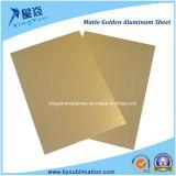 Het gouden Blad van het Aluminium voor Verkoop