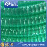 Boyau de l'eau renforcé par tonnerre transparent de débit industriel de PVC
