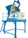 Nuevo producto JS750 de doble eje hormigonera