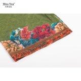Оптовая продажа флористического платья Miss Вы Ailinna 305152 тонкий длинним напечатанная платьем