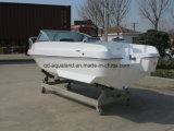中国Aqualand 15feet 4.6mのスポーツ漁船または力のボートかガラス繊維のモーターボート(150br)