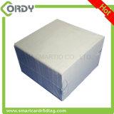 Leite liso Branco PVC 125kHz TK4100 Cartão inteligente em branco