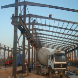 Полуфабрикат здание пакгауза снабжения стальной структуры с большим рабатом