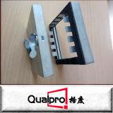 Fabrik-Preis-galvanisierte quadratische Leitung-Stahlzugangstür AP7430