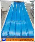لون زرقاء يغضّن [رووفينغ] حديد صفح
