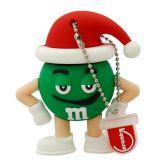 크리스마스 선물 USB 섬광 드라이브 USB 2.0 드라이브 USB 기억 장치 지팡이 펜 드라이브