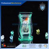 Réservoir de poissons décoratif et clair ou coloré de plexiglass avec la transparence élevée