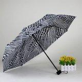Fábrica promocional Small 3 Folds Cheap Gift Umbrella