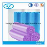 Sac de détritus en plastique de LDPE de HDPE remplaçable de consommation quotidienne