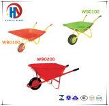 Wheelbarrow de jogo plástico da ferramenta para os miúdos (WB0200)