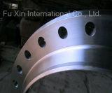 Bride forgée de cou de soudure d'acier du carbone de norme ANSI
