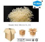 Белый прозрачный горячий клей зерен Melt для продуктов упаковки еды