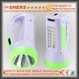 Nachladbare 1W LED Taschenlampe mit 12 LED-Schreibtisch-Lampe (SH-1958)