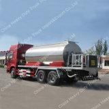 Sinotruk HOWO 12m3 de 6m de ancho de la rociada de emulsión de bitumen Carretilla de pulverización