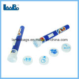 El logotipo de juguete de plástico para niños Antorcha Linterna de proyección de plástico