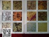 glace de clinquant d'or de 3mm~6mm, glace colorée, glace décorative