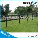 Пластичные панели загородки уединения, загородка 4 винилов, белые пластичные панели загородки пикетчика