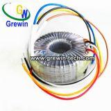 電気制御システムのための力の円環形状の変圧器