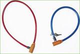 キー(BL-040)の最もよい価格の自転車の螺線形ケーブルロック