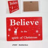 Nouveau Noël Jingle bells Deocration châssis en bois