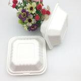 サトウキビのバガスの生物分解性の食糧ボックス