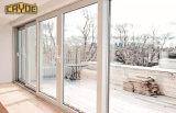 Windowsの標準アルミニウムドアの自動ガラスFramelessの引き戸