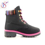 Приспособленная семьей работа деятельности безопасности впрыски детей малышей Boots ботинки для напольной работы (ЧЕРНОТА SVWK-1609-051)