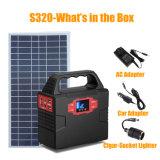 Phase unique générateur d'énergie solaire portable avec adaptateur secteur