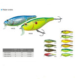 Hard Plastic Multi-Jointed Swim Crankbait Fishing Lure