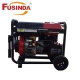 Open Diesel van het Type 4.5kVA van Frame Generator met Lucht Gekoelde Dieselmotor